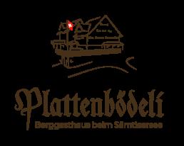 Logo Berggasthaus Plattenbödeli beim Sämtisersee