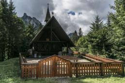 Bergkapelle im Berggasthaus Plattenbödeli