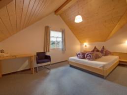 Komfortzimmer im Berggasthaus Plattenbödeli